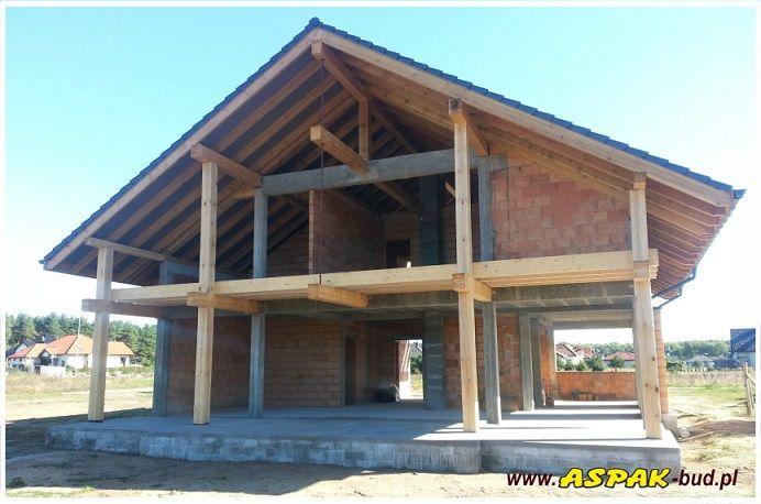 Budowa domu Otwarty  #architektura #dom #budynek