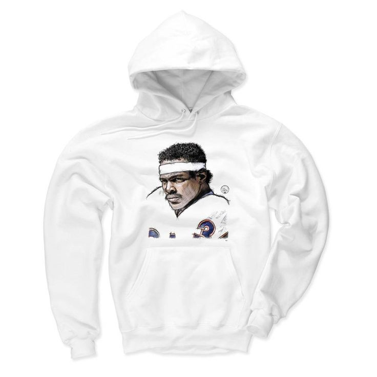 Walter Payton Officially Licensed NFLPA Chicago Bears Hoodies S-3XL Payton Face Sketch B