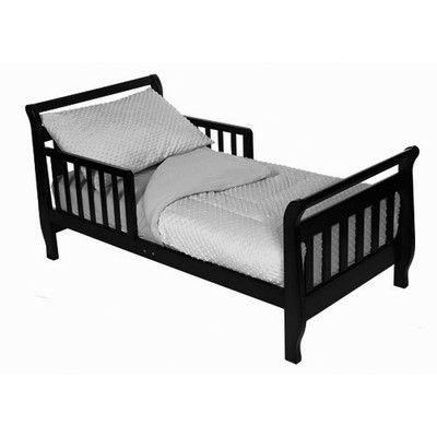American Baby Company Minky Dot Chenille 4 Piece Toddler Bed Set 1440SS GRAY,    #American_Baby_Company_1440SS_GRAY