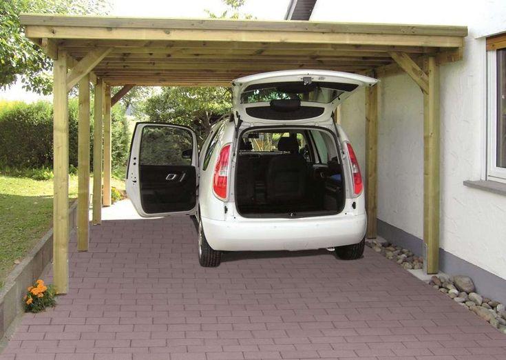Carport Holstein 373 x 860 cm 304332 Gartenhaus gmbh