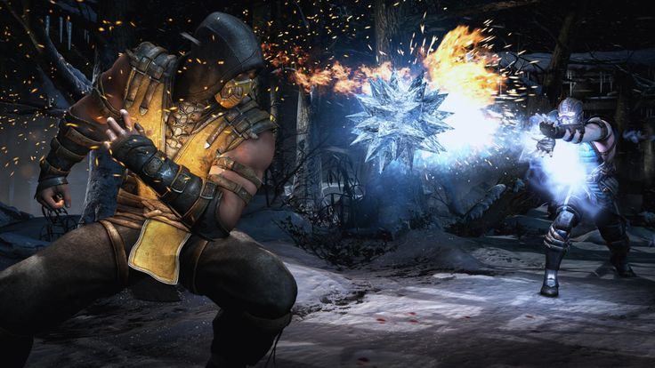 Mortal Kombat X - Sub Zero vs. Scorpion