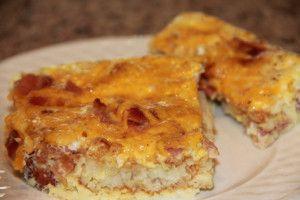 Hash Brown Patty Breakfast Casserole