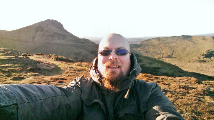 January 1st 2013. First day of 8x365. Me in Holyrood Park, Edinburgh.
