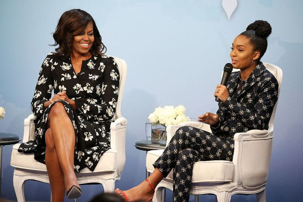 So it's no surprise that such a phenomenal woman would get an absolutely phenomenal college recommendation letter — from former First Lady Michelle Obama.