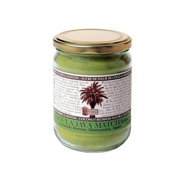 Té Matcha con azúcar de flor de coco Amanprana 400 g bio.  Es elogiado por los conocedores por su sabor puro y alto valor nutritivo. Kotobuki es fuerte y contiene taninos más saludables. www.ecoalgrano.com
