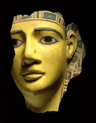 Mummy Mask from ancient Egypt, Ptolemaic period