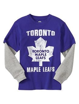 Toronto Maple Leafs hockey graphic T | Gap Kids Scarborough Town Centre. #hockey #tshirt #Toronto #boys