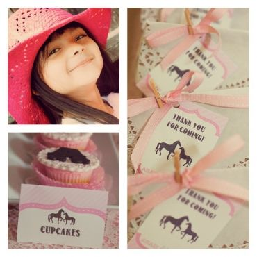 Preciosa fiesta de cumpleaños de caballos   Blog de BabyCenter