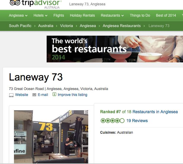 http://www.tripadvisor.com.au/Restaurant_Review-g552129-d3389138-Reviews-Laneway_73-Anglesea_Victoria.html