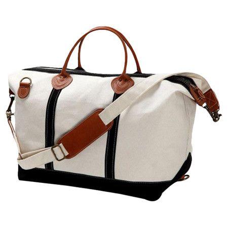 weekender bag black & white $69