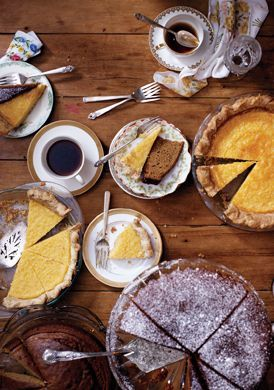 Buttermilk Lemon Chess Pie...this is pretty darn close to my own ...