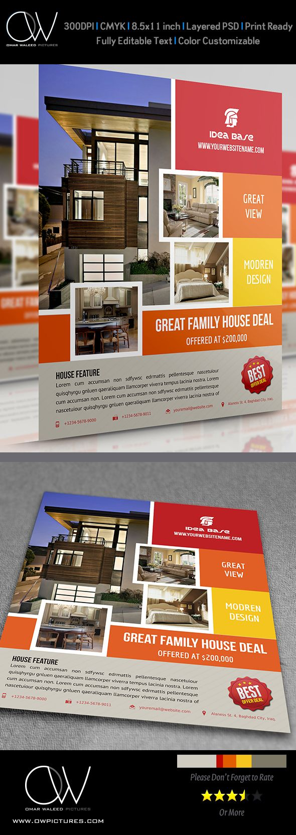 Real Estate Flyer Vol5 by OW Pictures