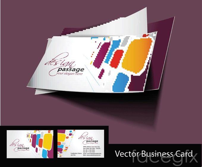 14 best business card images on pinterest fashion business cards fashionable business card vector template fbccfo Images