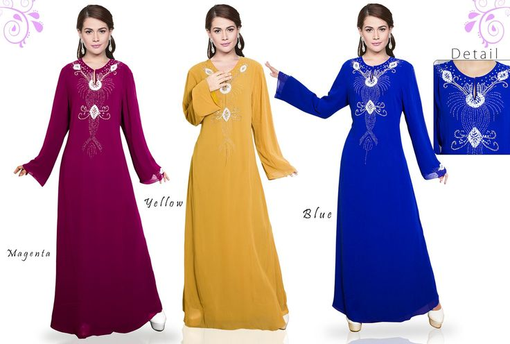 Gamis/Jubah by In Her Store Indonesia – Telaga Series Material : Chiffon Price : NOW ONLY Rp 225rb/pc  PIN : 56EC4B97 Line : go2dika