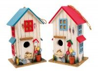 Detské dekorácie - Vtáčia búdka vila 1ks
