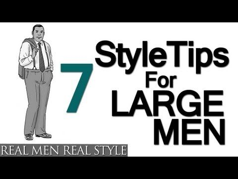 7 Style Tips For Large Men - Big Man's Guide To Sharp Dressing | The Art of Manliness