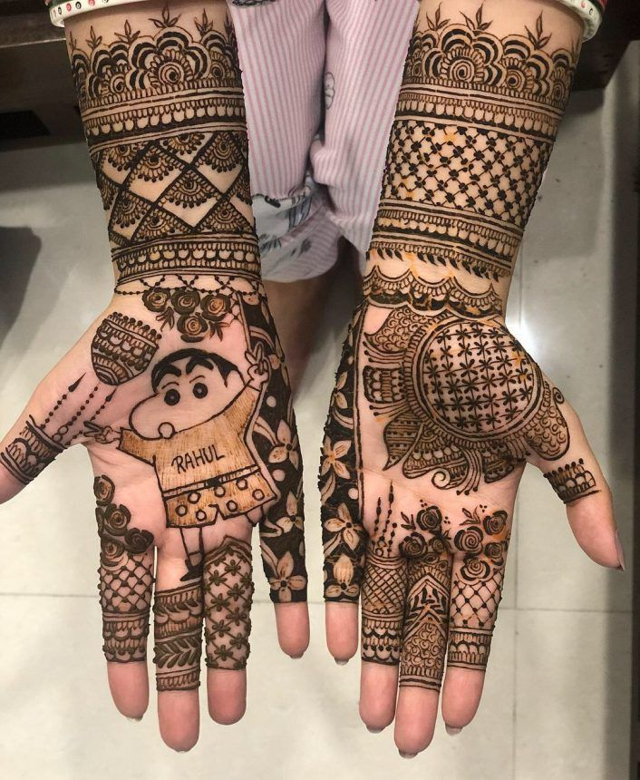 mehandi design for kids full hand