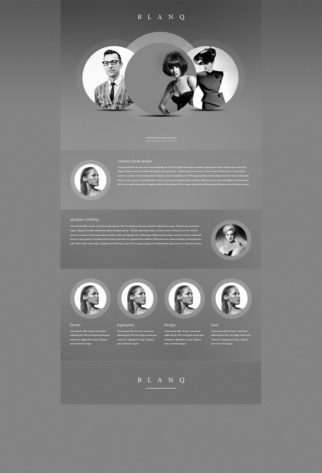 68 best images about psd web template on pinterest