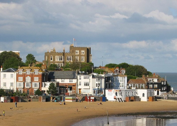 Broadstairs ~ My grandparents retired to Broadstairs after we left for America.