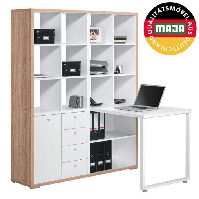 """Domáca kancelária MINI OFFICE - SCONTO NÁBYTOK-kompletný """"all in one"""" pracovný priestor"""