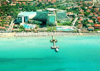 Çeşme Castle; Ilica Beach , Turkey cesme, izmir, turkey