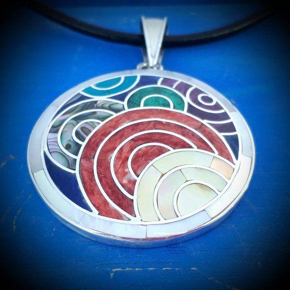 ancient symbol sun of Peru mystical precolumbian ring Inca Sun God silver ring