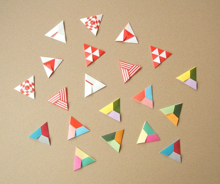 Origami Triangles