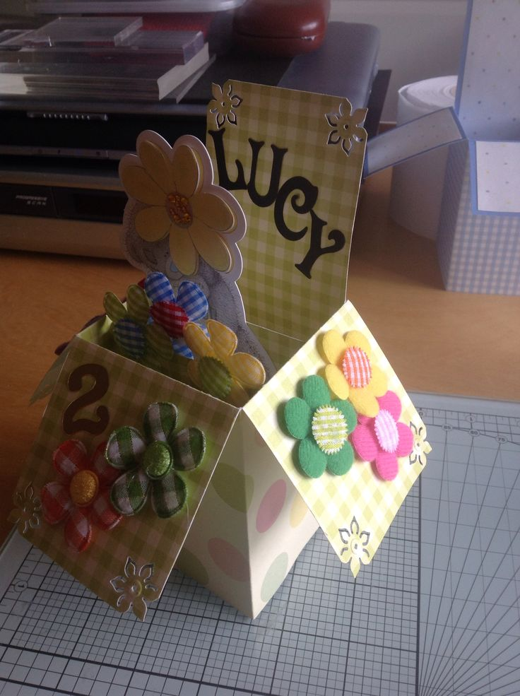 Pop up card for Lucy