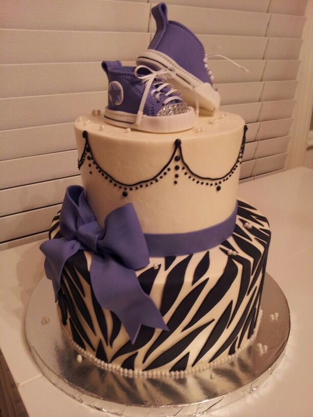 Purple Zebra Cake Design : 22 best images about Purple and Zebra stripes baby shower ...