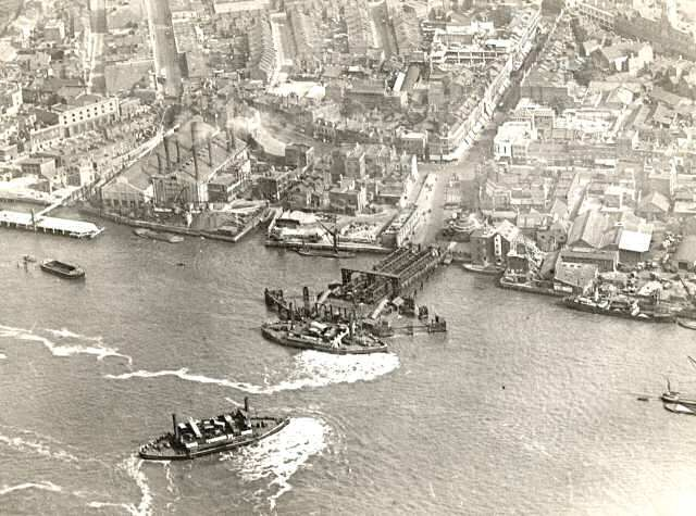Woolwich Ferry South Terminal, Woolwich, c. 1925