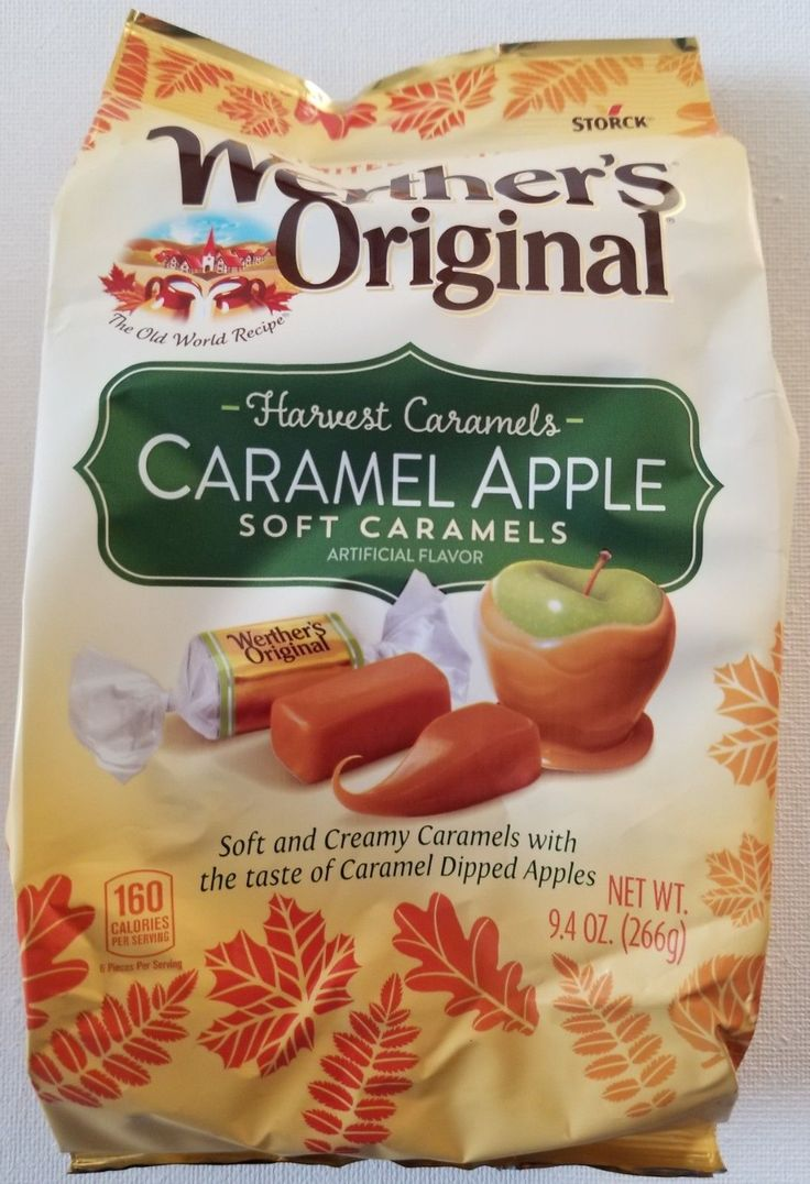 Chewy candy 159892 new werther s original caramel apple
