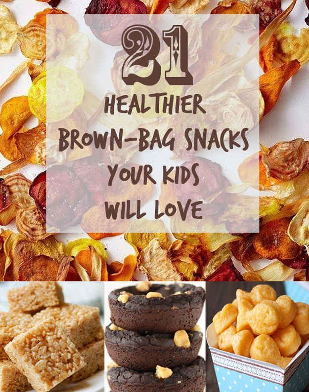 might try some - although i'm NOT making my own pretzels. :) 21 Healthier Snacks Your Kids Will Actually Want To Eat