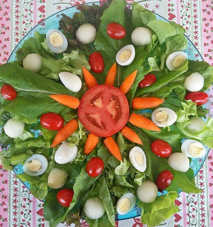 Uma semana = sete saladas #1saladapordia - 5ª semana - Inventando com a mamãe