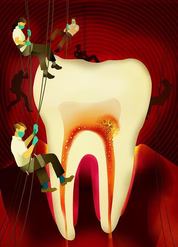Magazine illustration #12 on Behance