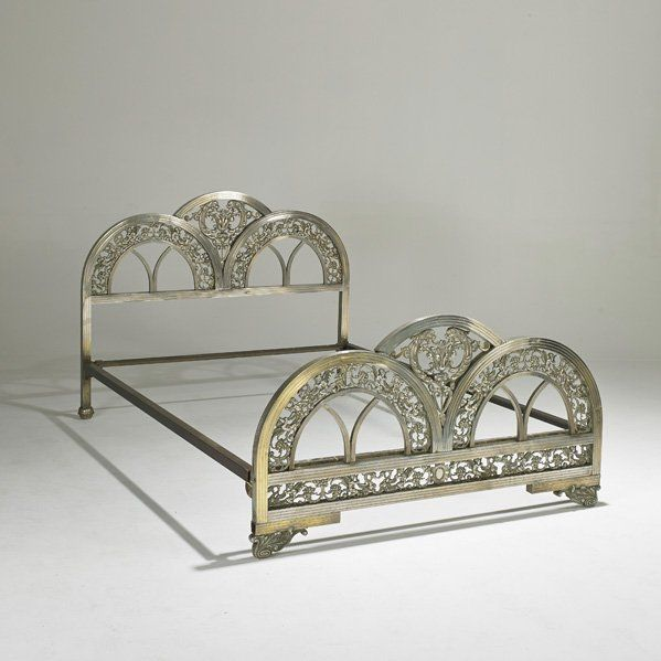 ART DECO bed. Just for me though. Not sharing this with anyone else.                                                                                                                                                     More
