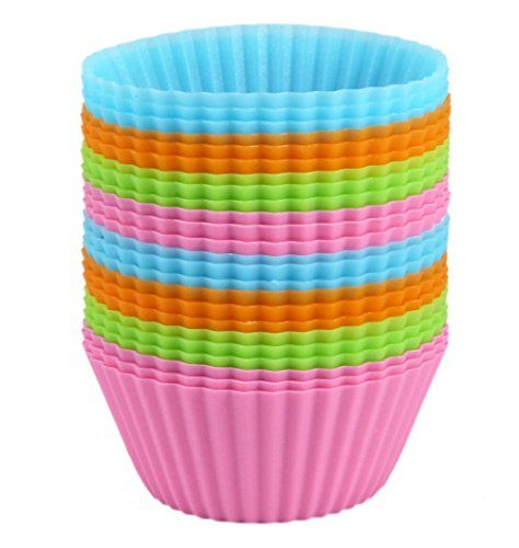 Bakerpan Silicone Standard Size Cupcake Holders Cupcake Liners Baking Cups 24 Pack >>> This is an Amazon Affiliate link. Check this awesome product by going to the link at the image.