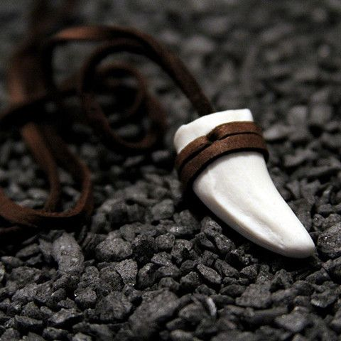 Jaguar Tooth Necklace – $65 on Forte Knight