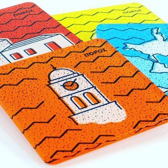 #plexiglass #coasters designed by @louder_than_horn  .  .  .  .  .  #coaster #tableware #artdelatable #greekislands #inspiration #architecture #blue #white #event #madeingreece #silkscreen #screenprint #print #printmaking #insta #instaartwork #greece #greecestagram #igers #love #gift #giftideas #plexiartshop