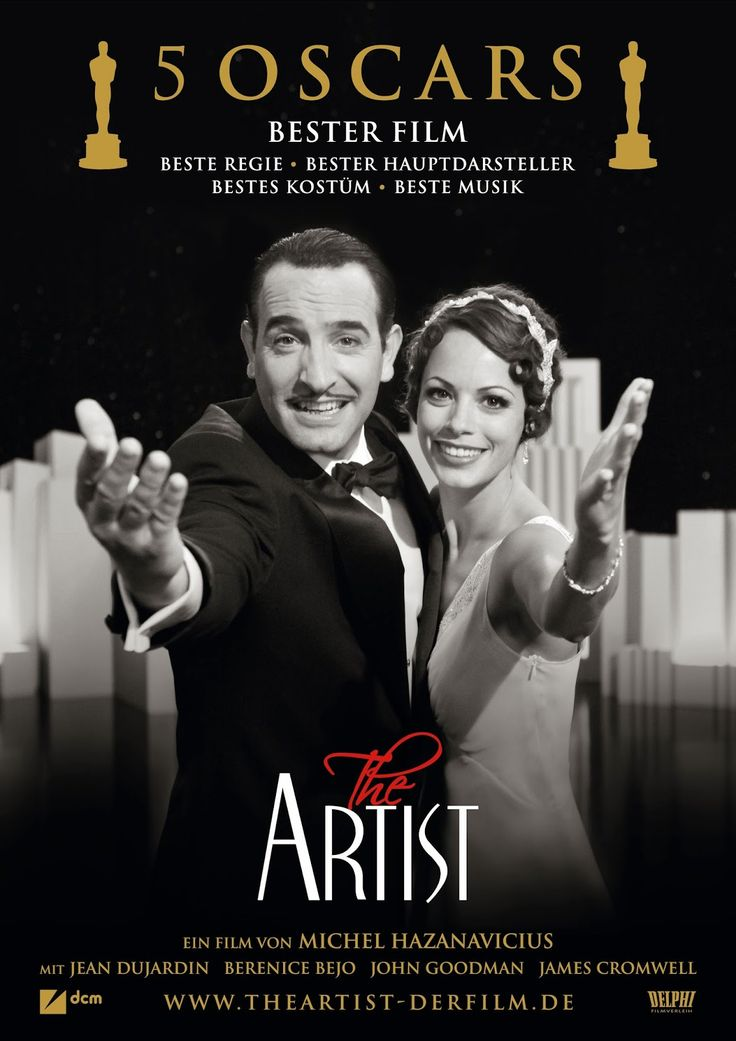 Película del año, 2011, con un tema de comedia romántica, un homenaje al cine mudo.