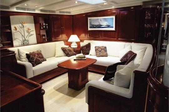 intrieur voile et voilier photos windrose est la fois un voilier de course et - Un Salon De Luxe