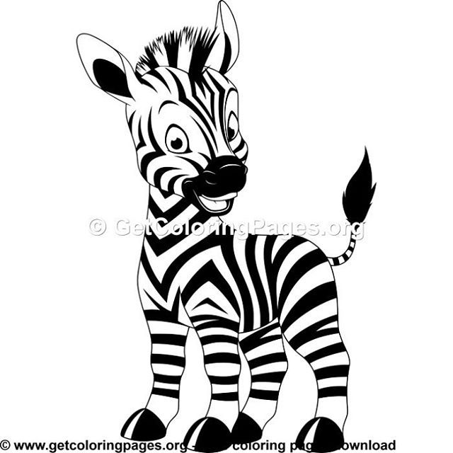 Free Coloring Pages Giraffe Coloring Pages Zebra Coloring Pages Unicorn Coloring Pages