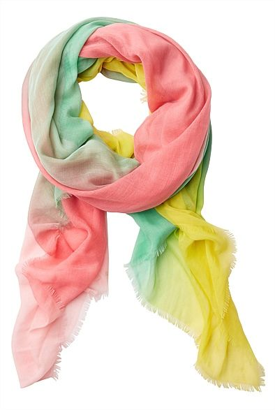 Latest Women's Accessories for Spring & Summer 2013 | Witchery Online - Neapolitan Scarf  #witcherywishlist