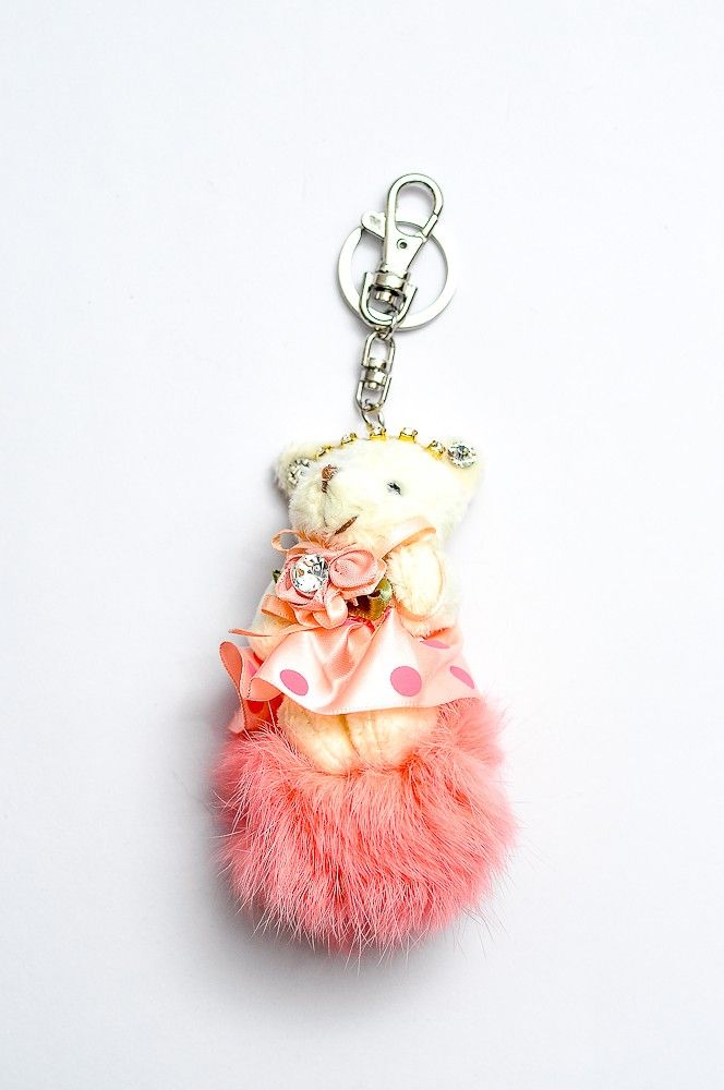 Doll Key Chain DKC04/ Bag Charm Peach Rp 60.000
