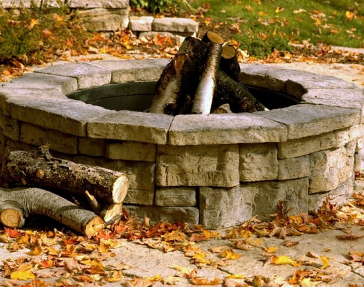 Outdoor Fire Pit Kits Design Ideas ~ http://lovelybuilding.com/the-decoration-of-outdoor-fire-pit-kits/