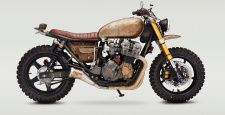 Classified Moto is one of the breakthrough builders of the past couple of years. John Ryland's stubby, purposeful aesthetic has attracted a legion of fans (plus the media attention to match) and the order book is full. Ryland grades his bikes according to the amount of work involved, and this 1981 Honda CB400T is one…