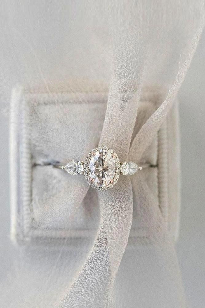 Pearl Ring 14k White Gold Wedding Ring Dainty Promise Delicate