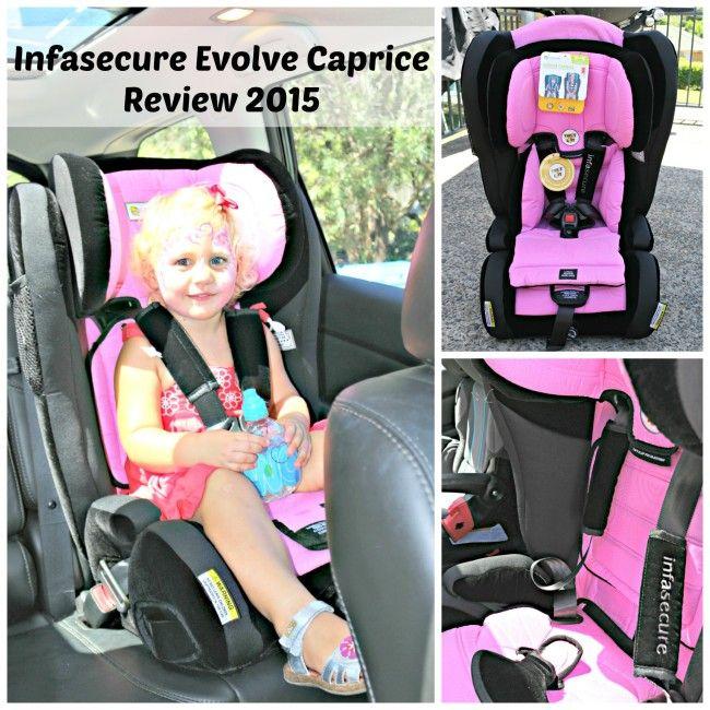 Mrs D plus 3 | Infasecure Evolve Caprice car seat review 2015 | http://www.mrsdplus3.com