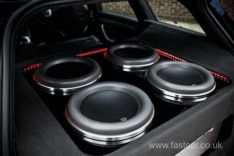 Car Audio & Security's Audi A4 | Fast Car