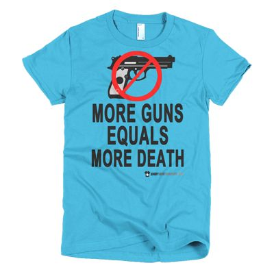 More Guns Equals More Death - In various women's and men's sizes, etc. Blue, green, white, black and many more ... #angry #shirt #company #political #tshirt #tshirts #noguns #notmoreguns #moregunsequalsmoredeath #gunskill #human #unique #uniquehuman #revolution #revolutionnow #revolutionstartswiththe99% #government #corruptgovernment #activist #educateyourself #injustice #equality #standup #standuptogether #unite #unity #uniteagainstinequality #discrimination #shirtcompany #angryshirtcompany
