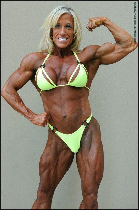 Women's bodybuilding has been a growing sport in recent